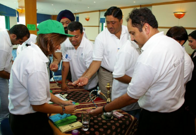 Arabian-Market team building activity