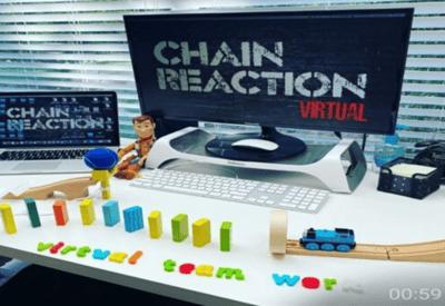 chain-reaction-image team building activity