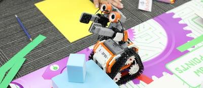 robot-revolution team building activity